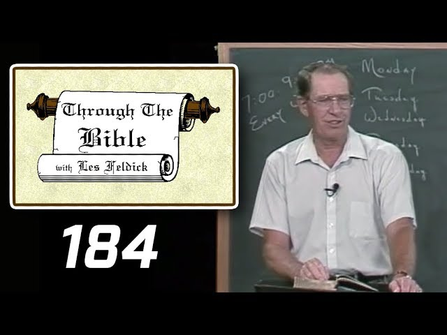 [ 184 ] Les Feldick [ Book 16 - Lesson 1 - Part 4 ] Christ, Our High Priest