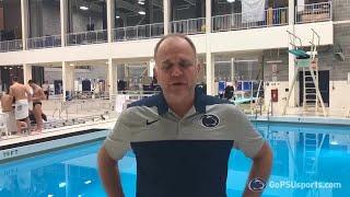 Men's Swimming vs. West Virginia Postmeet