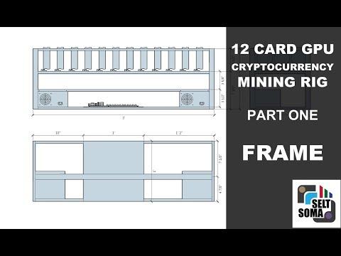 12 GPU Crypto Mining Rig Build - Part 1 [Frame]