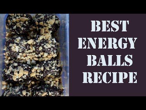 How To Make Best Energy Balls Ever! My favourite recipe | Alina Valiant