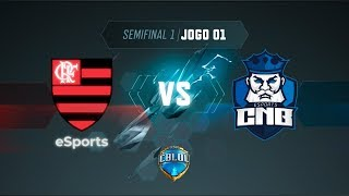CBLoL 2019: Flamengo x CNB (Jogo 1) | Semis - 1ª Etapa
