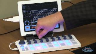 Arturia BeatStep Pad Controller/Sequencer Demo - Sweetwater's iOS Update, Vol. 73