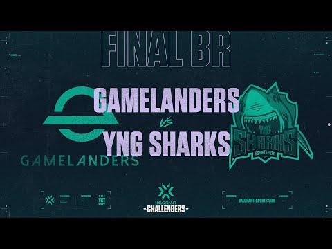 Gamelanders vs Sharks-VCT 2021 Stage2 CF BR-G1
