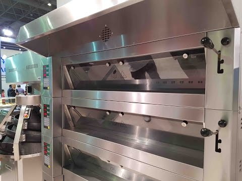 Porlanmaz Bakery Machinery IBATECH 2016 Istanbul