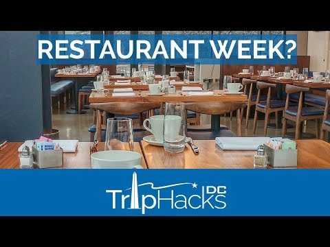 Tips for Washington DC Restaurant Week