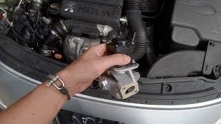 Peugeot 207 1.6 HDI - Changement nettoyage vanne EGR