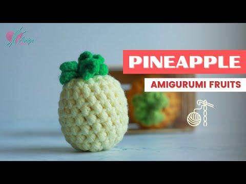Amigurumi Banana Crochet Free Pattern - Amigurumi #Fruits; Free ... | 360x480