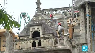 Notre-Dame decontamination still underway