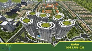 [Trí Long TV] Giới thiệu tổng quan tổ hợp chung cư cao cấp Tecco Elite City Thái Nguyên