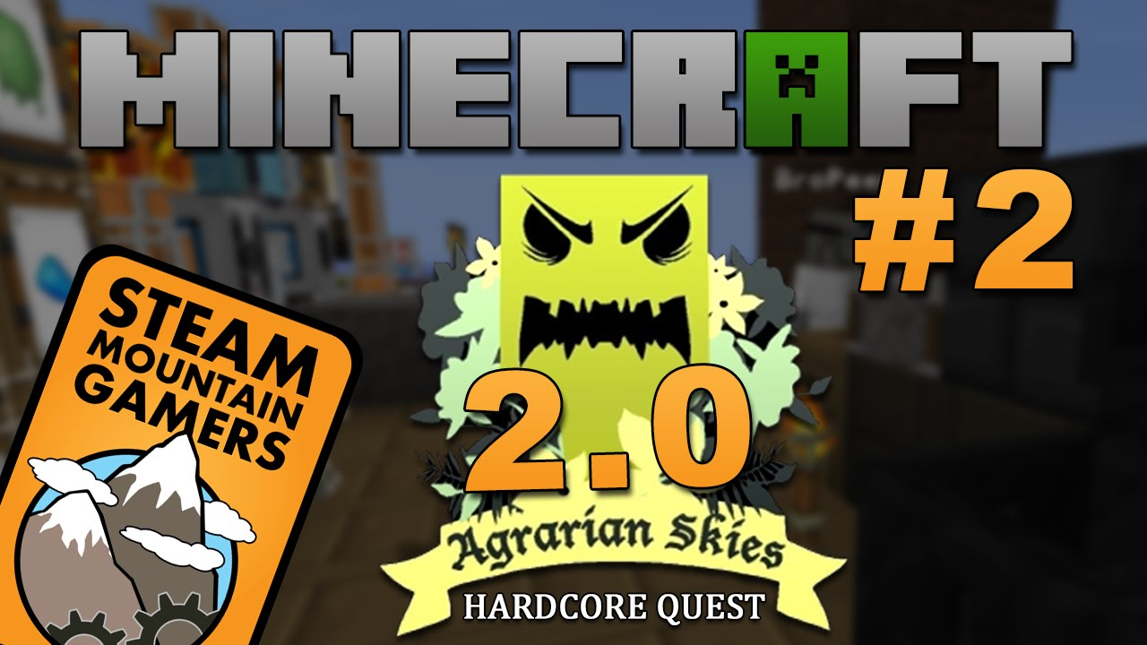 Download Minecraft: Agrarian Skies 2.0 - Hardcore Skyblock - Ep. 2: SILK WORMS AND STRING