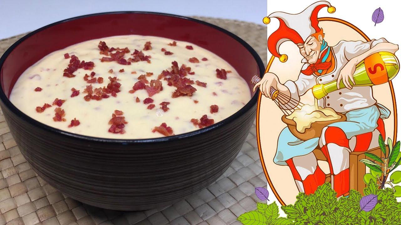 Как сделать сырный соус дома. Сливочный соус рецепт. Лучшие соусы в нашей видео школе.