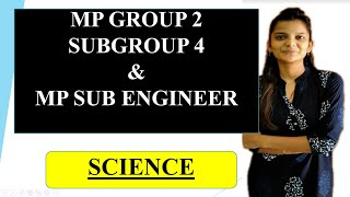 MP Group 2 Subgroup 4 Science|Mp Sub Engineer Science|Labour Inspector Science |Jail Prahari Science