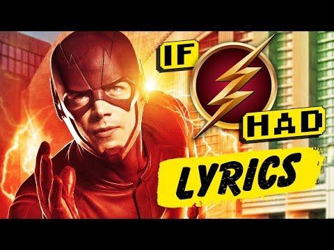 """If """"The Flash"""" Song Had Lyrics"""