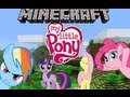 Minecraft Mod Review: Mine Little Ponies Mod!