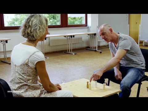 Aufstellungsarbeit Brettaufstellung nach dem profilax®-Modell Elke Post Hamburg