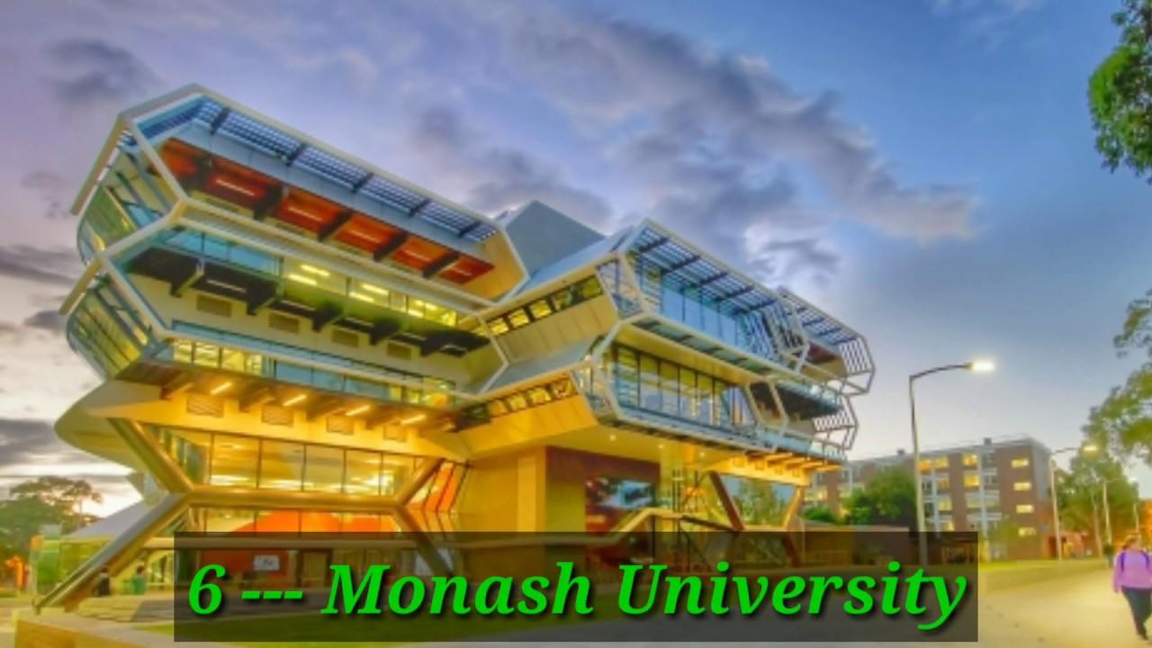 Kết quả hình ảnh cho TOP 10 University in Australia 2020