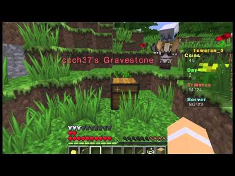 Minecraft Hunger Games met Dani en Stephan