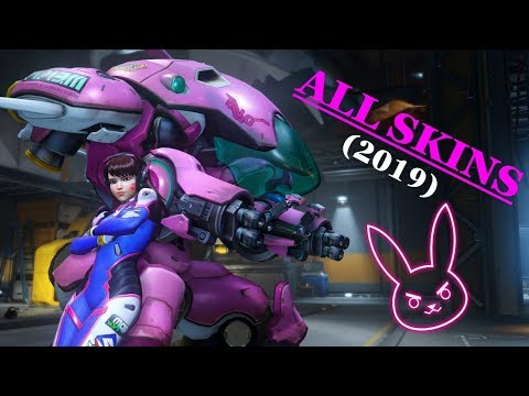 D.va - All Skins, Emotes, Voice Lines & More (Overwatch - 2019)