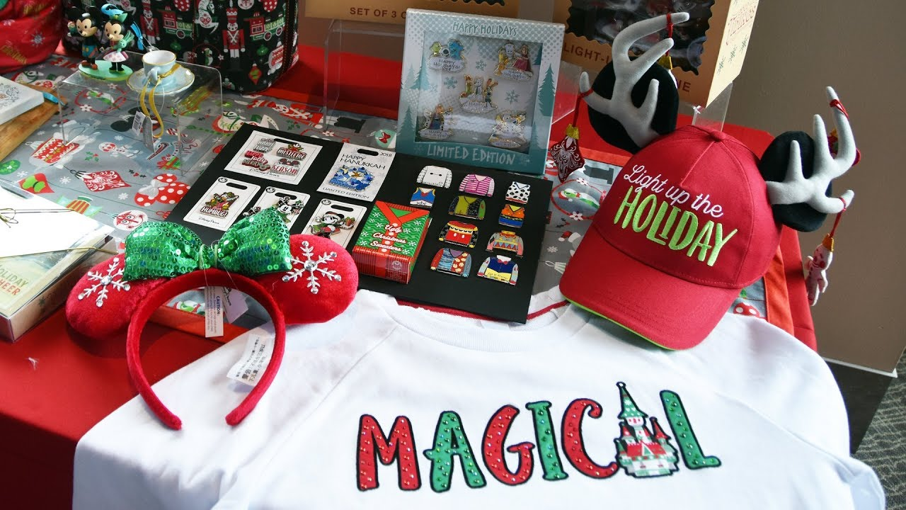 Christmas & Holiday Merchandise Preview 2018 at Walt Disney World ...