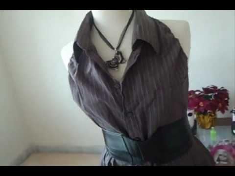 3d934f7276144 Camisa a blusa de mujer - YouTube
