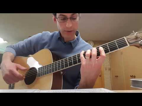 Music of the Night: Solo Guitar Tutorial Part 1