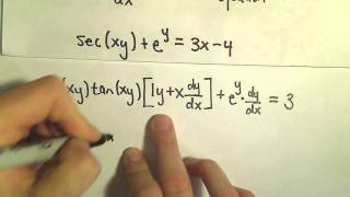 Implicit Differentiation - More Examples
