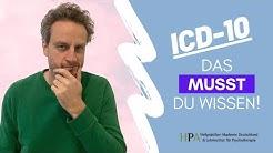 Warum Ihr Euch mit dem ICD-10 auskennen solltet! #heilpraktikerwissenkompakt