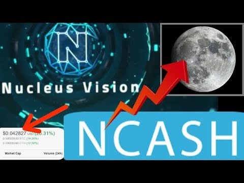TOP 5 Potential For Internet Of Things Crypto Nucleus Vision $NCASH