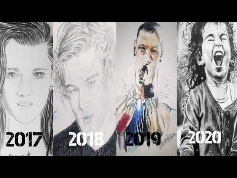 My Art Progress (2017 - 2020) - Never Give Up