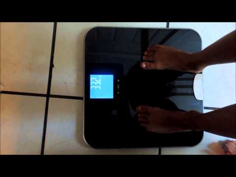 EatSmart Get Fit Precision Body Fat Bathroom Scale