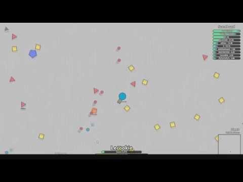 Diep io Gameplay   Lots Of Fun