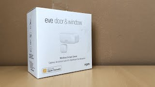 elgato Eve Door & Window Unboxing  Setup  Review!