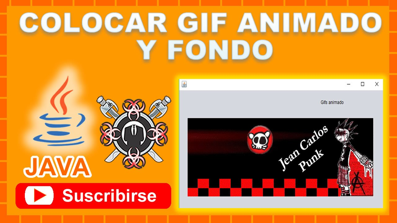 Colocar Gif Animado Y Fondo Netbeans Youtube