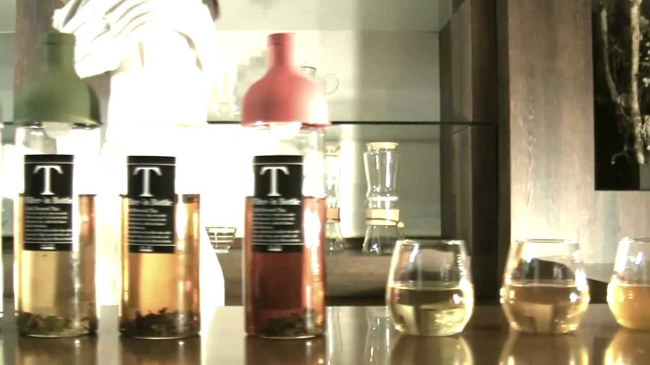 【hario】filter In Bottle Cold Brewed Tea Youtube