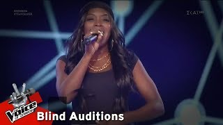 Yinka Williams - Shape of You | 1o Blind Audition | The Voice of Greece