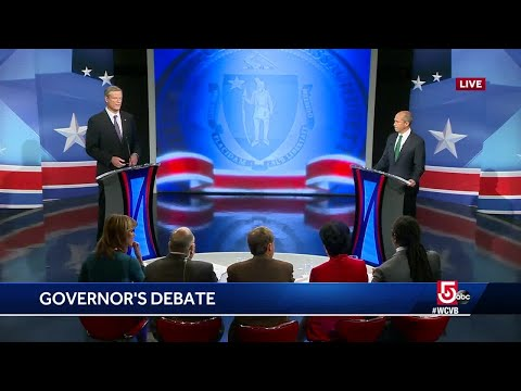 Charlie Baker, Jay Gonzalez spar in last debate before election