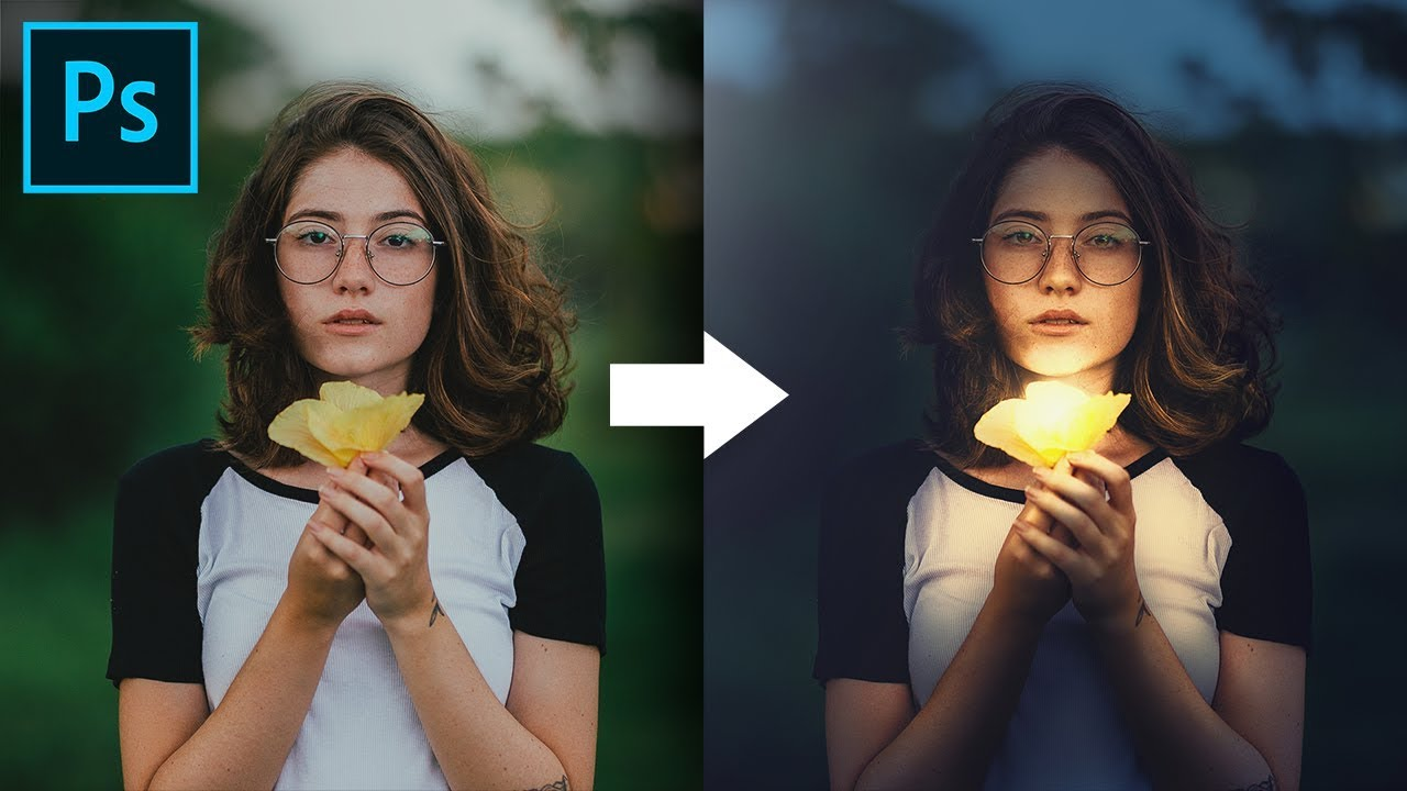 Shape the Light with Creative Color Grading in Photoshop!