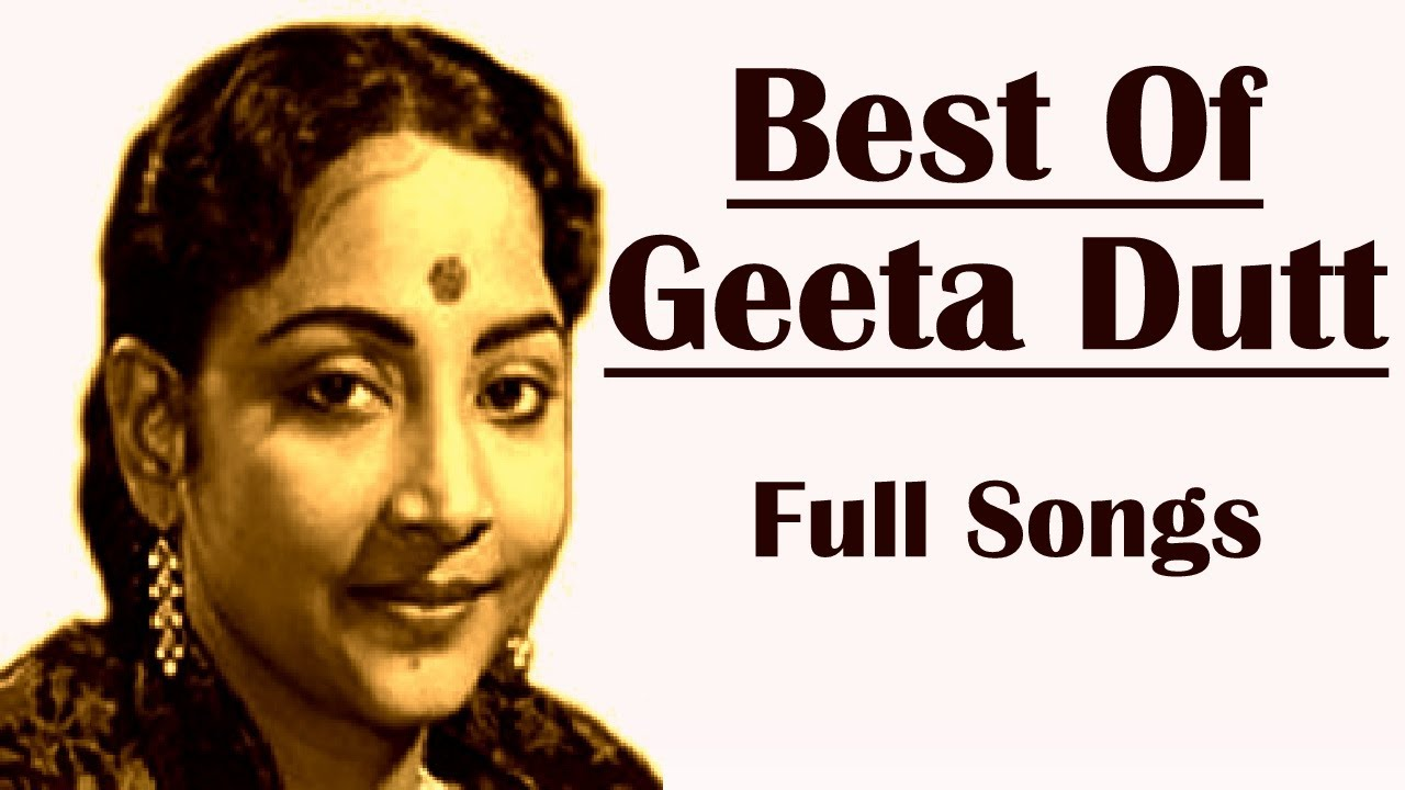 geeta dutt bengali songs list