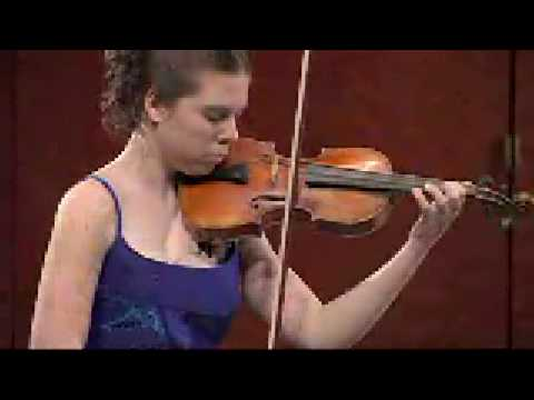 Wieniawski- Polonaise in A-Major- Tessa Lark