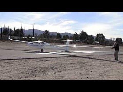 SOARING / GLIDER FLYING AT SOUTHERN CALIFORNIA SOARING ACADEMY - LLANO, CA - 2/15/2013
