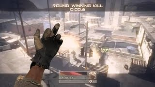 Call Of Duty Online Multiplayer Sniper Quick Scope Montage/Gameplay