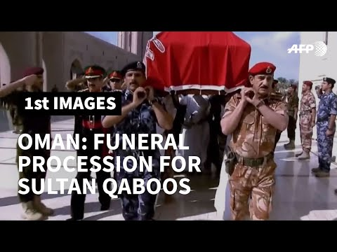 Funeral Procession For Sultan Qaboos Of Oman   AFP