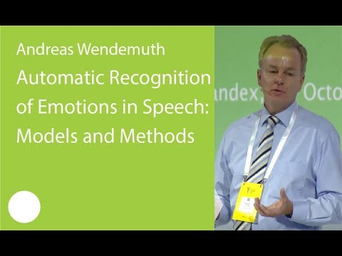 002. Automatic Recognition of Emotions in Speech: Models and Methods - Andreas Wendemuth