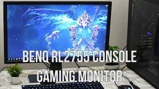 Benq Zowie RL2755 Console Gaming Monitor Unboxing and Review