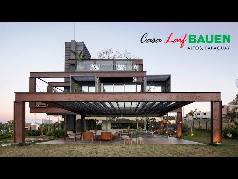 Casa Laif BAUEN: Low cost Container House in Altos, Paraguay