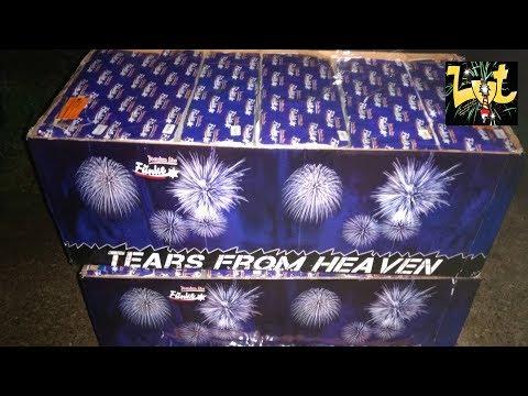FCM259-1 Tears From Heaven 259 Shots Flowerbed Fünke Fajerwerki