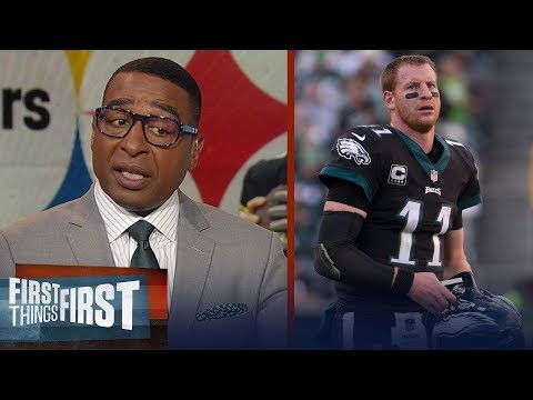 Big Ben&39;s leadership questioned & Pressure on Carson Wentz - Cris Carter  NFL  FIRST THINGS FIRST