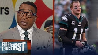 Big Ben's leadership questioned & Pressure on Carson Wentz - Cris Carter | NFL | FIRST THINGS FIRST