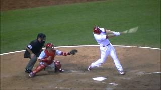 Rotational Hitting (David Freese)
