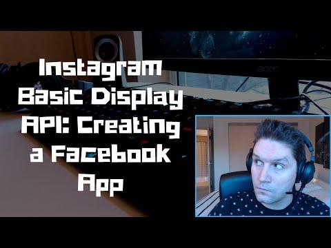 Instagram Basic Display API: Creating A Facebook App